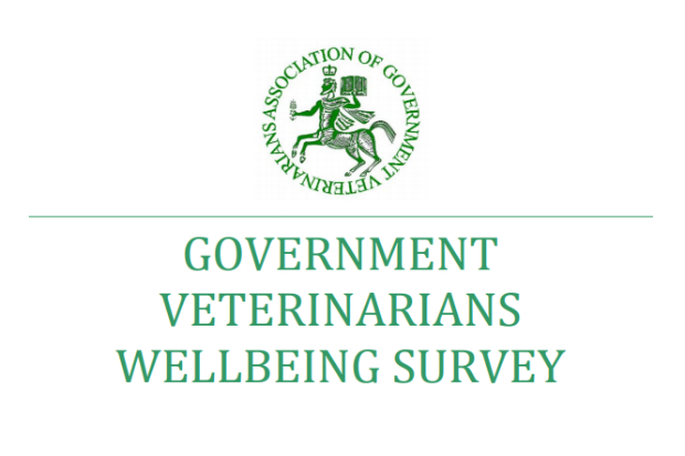 AGV logo followed by the words Government Veterinarians Wellbeing Survey