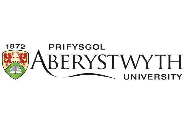 the logo of aberystwyth university