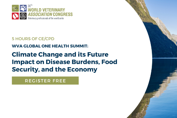 The logo promoting the WVA Global One Health Summit